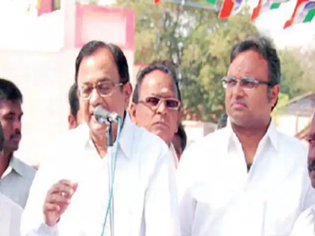 Congress leader Chidambaram and Son Karthi Has Multiple Bank Accounts Abroad