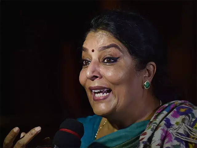 renuka chowdary fires on election officials