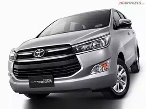 all new kijang innova bekas fog lamp grand avanza auto expo 2016 toyota ready for a second innings the aesthetically it looks more premium with massive grille sweptback headlamps flared wheel