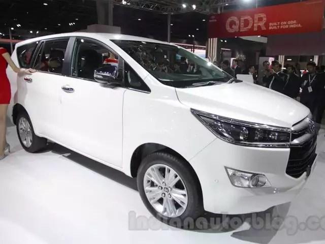 all new kijang innova crysta camry paultan auto expo 2016 toyota revealed