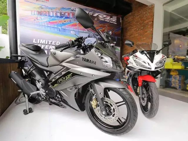 yamaha r15 offered in