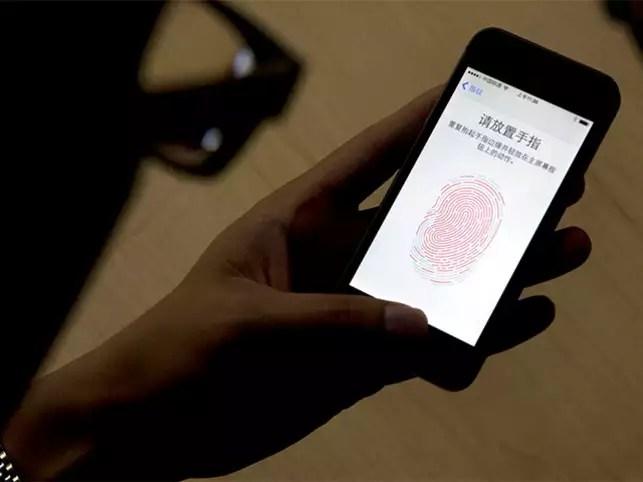 your phone s fingerprint