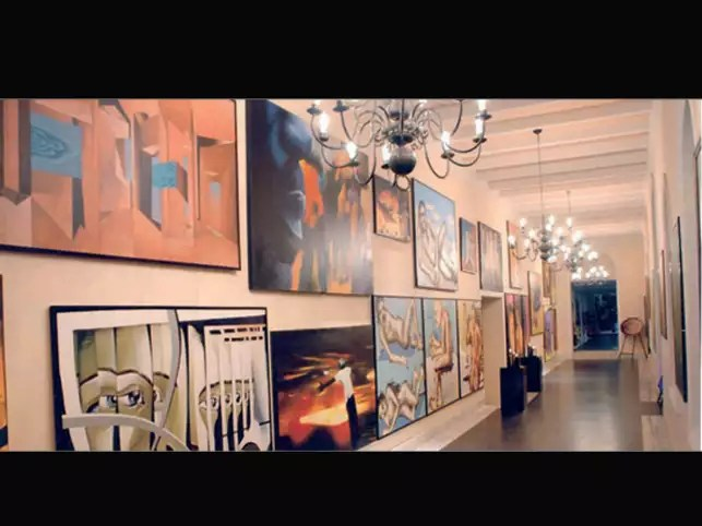 Star Hotels Lobbies And Corridors Turn Into Art Galleries