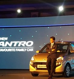 hyundai receives over 38 000 bookings for new santro [ 1200 x 900 Pixel ]