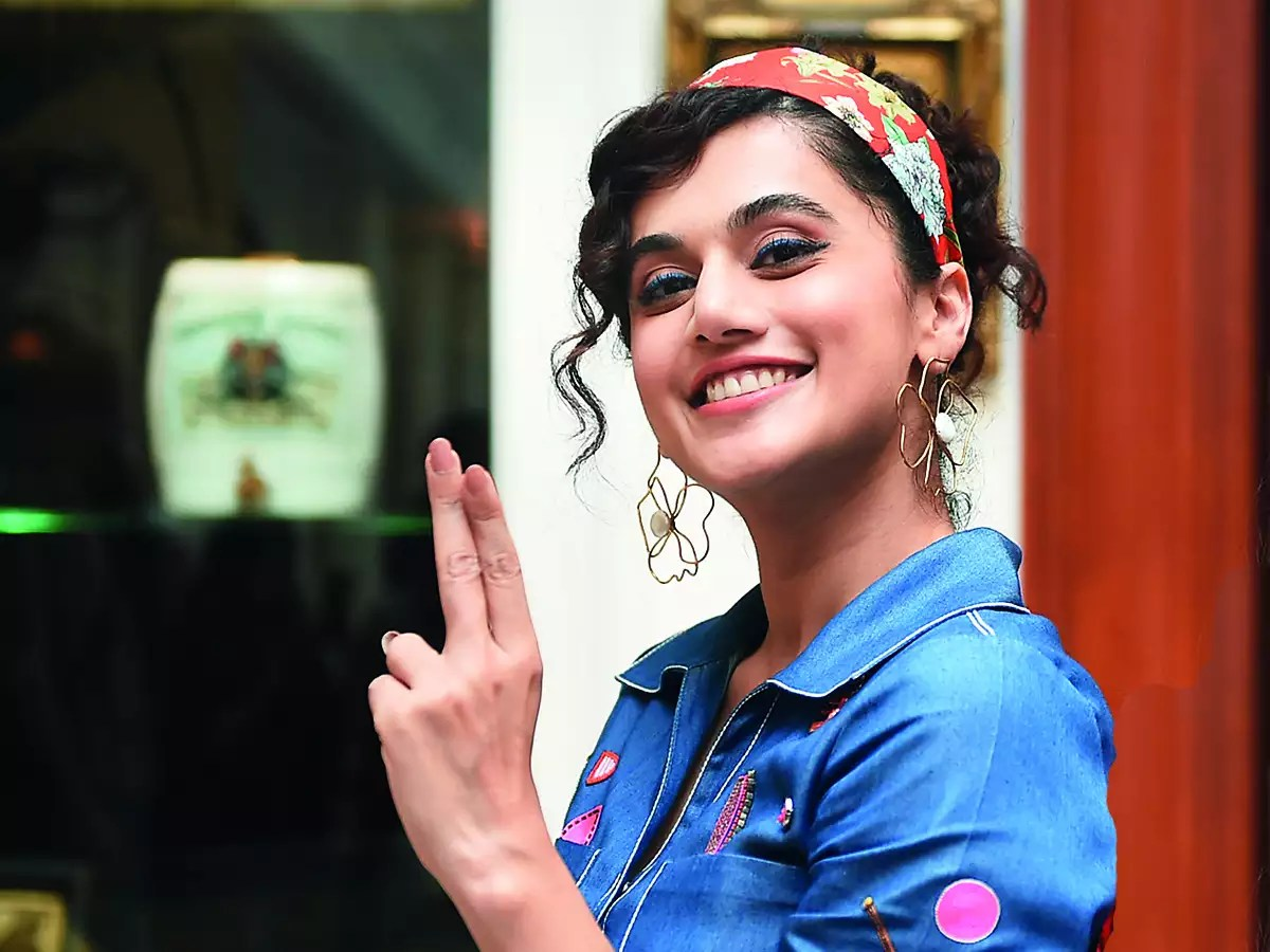 Tapsee Next Movie Insured To Protect Against COVID19