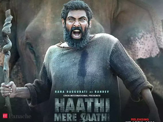Rana Daggubati's 'Haathi Mere Saathi' grounded by Covid-19, release pushed  - The Economic Times