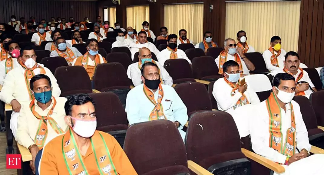 BJP fields an extra candidate each in Gujarat, MP, Rajasthan