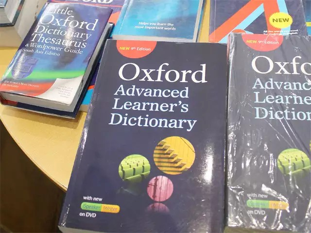 oxford: In a first, Oxford launches Hindi word of the year - The ...