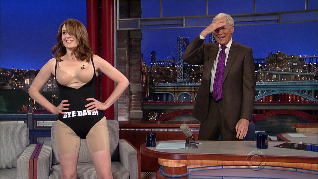 Letterman Nude