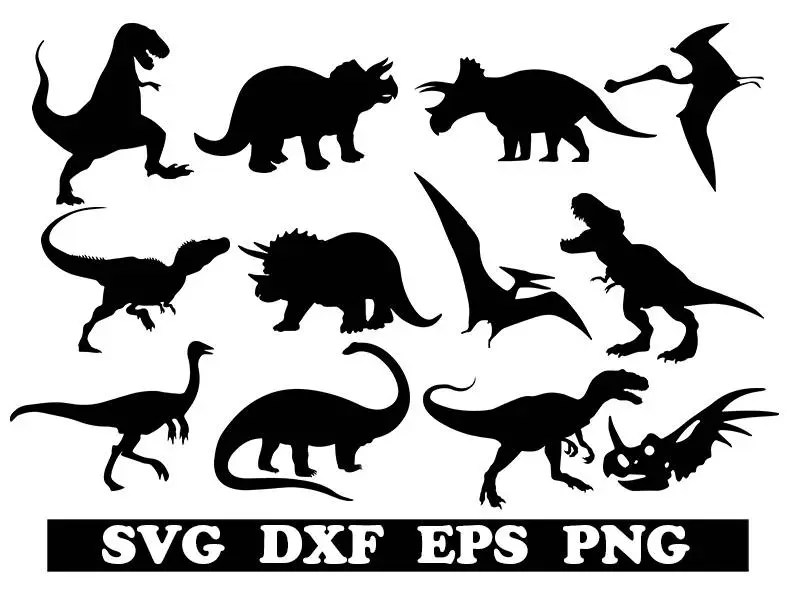 Download Dinosaurs svg dinosaurs cricut dinosaur dxf animal svg