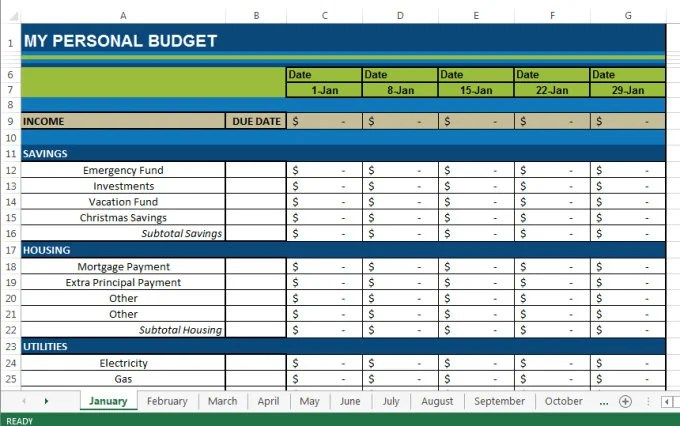 christmas budget spreadsheet - April.onthemarch.co