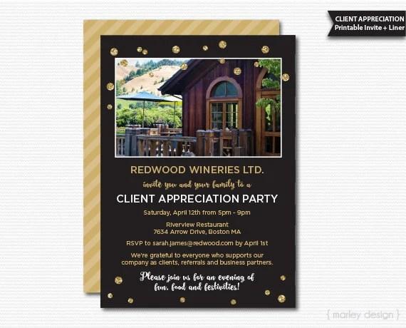 client appreciation invitation