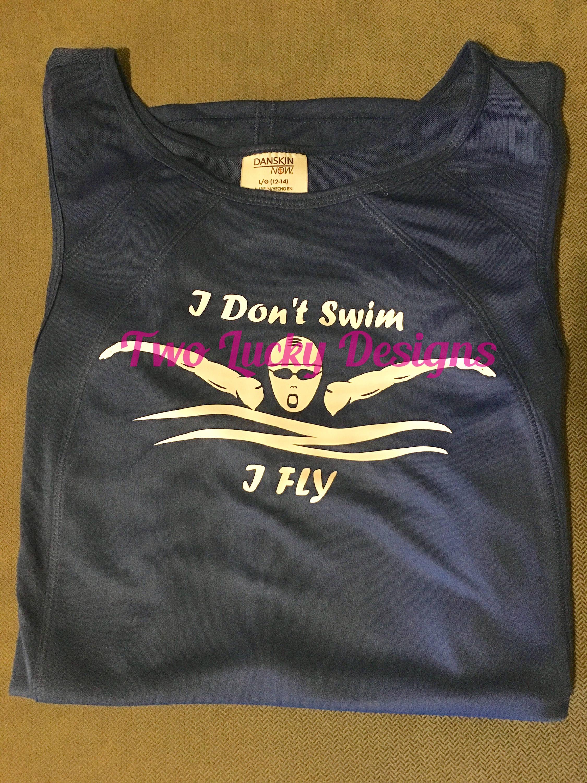 Swim Fly Swimmer Svg Cut File Clip Art Silhouette
