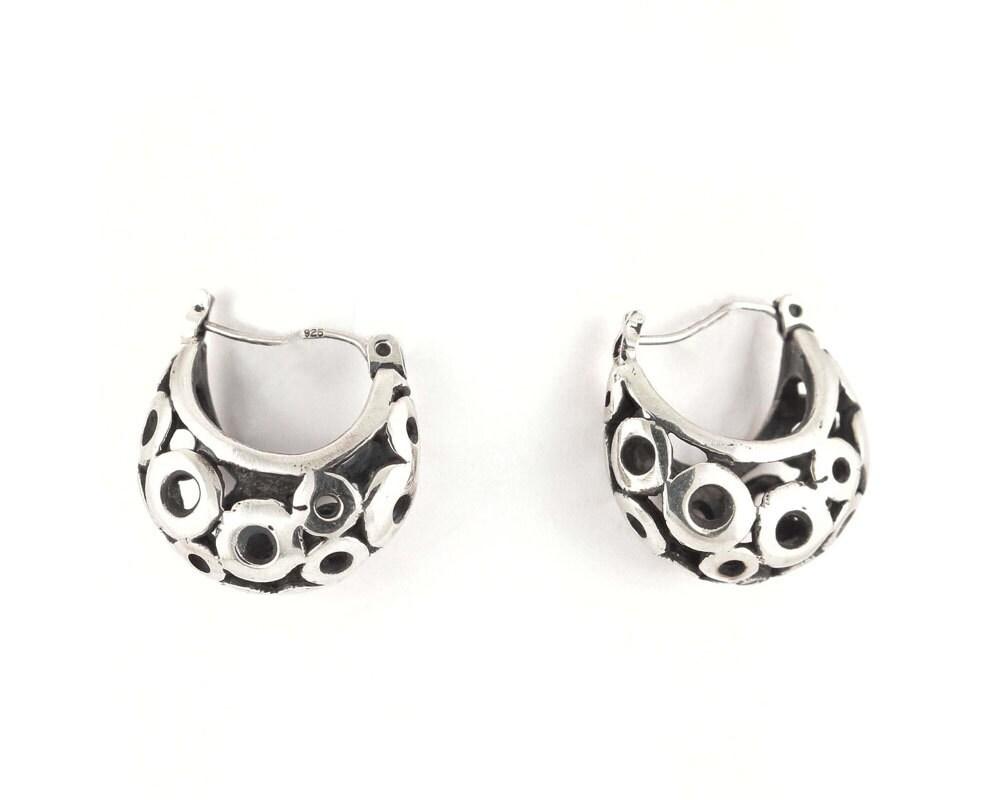 Short peas earrings