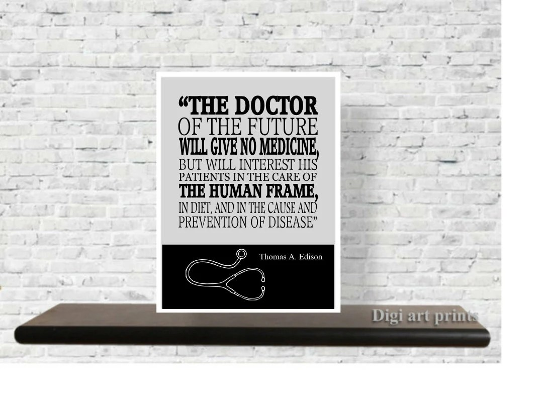 Doctor Gift Medical Wall Art Set Of Medical Patent Prints
