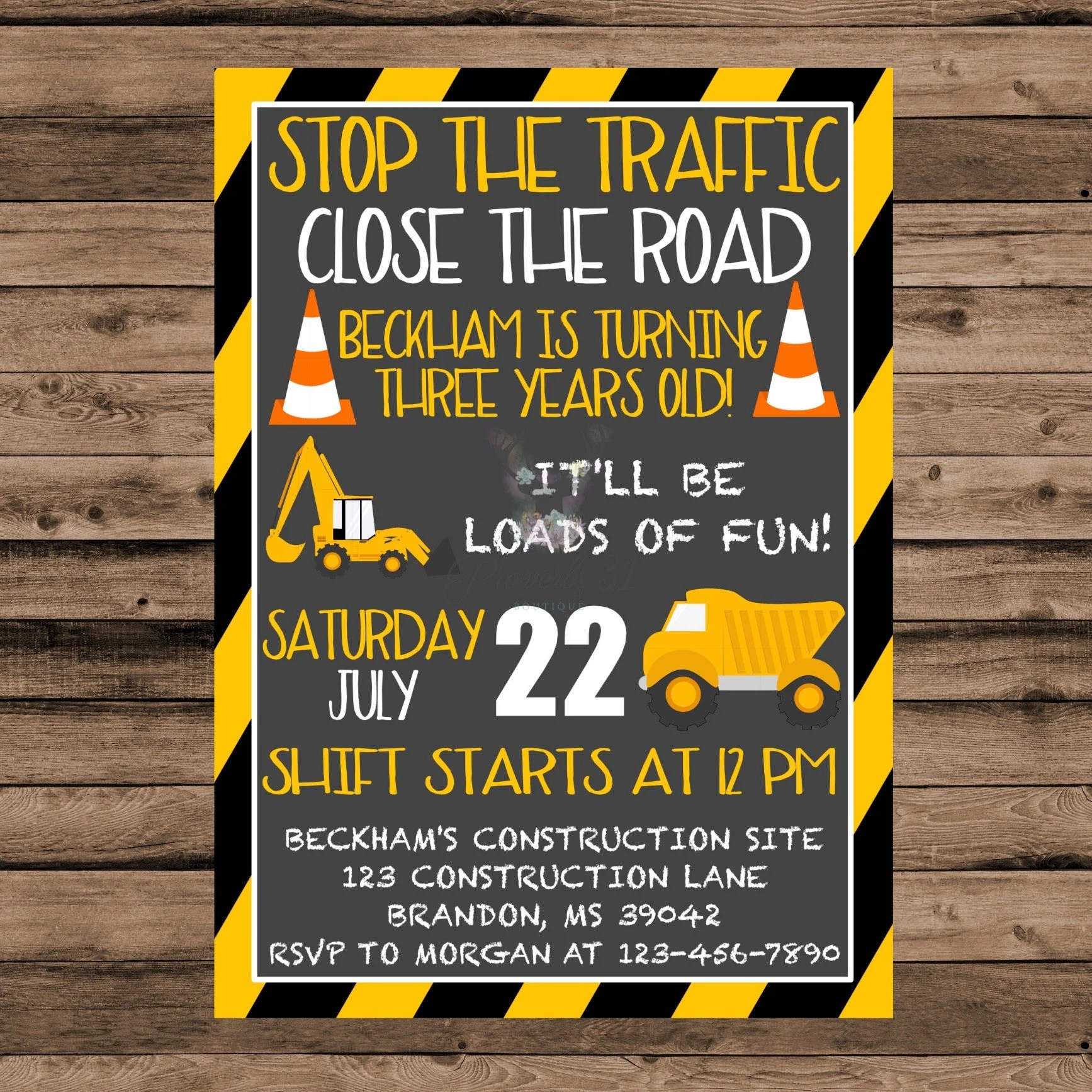 Construction Birthday Banner Printable Construction Birthday