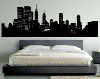 New York City Skyline Wall Decal