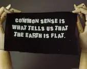Flat Earth Patch   Punk p...