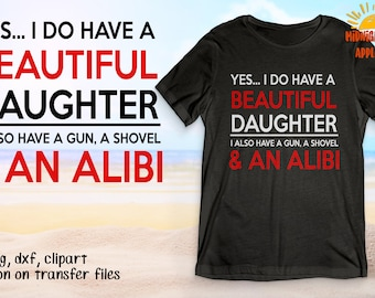 Download Father daughter svg   Etsy