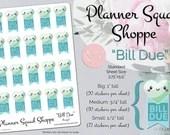 Bill Due Functional Kawai...