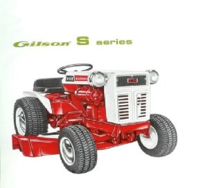 Gilson Montgomery Ward Tractor Parts Manual 450pgs with Mower