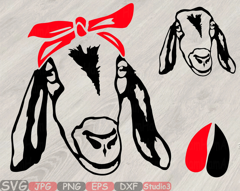 goat cut files svg