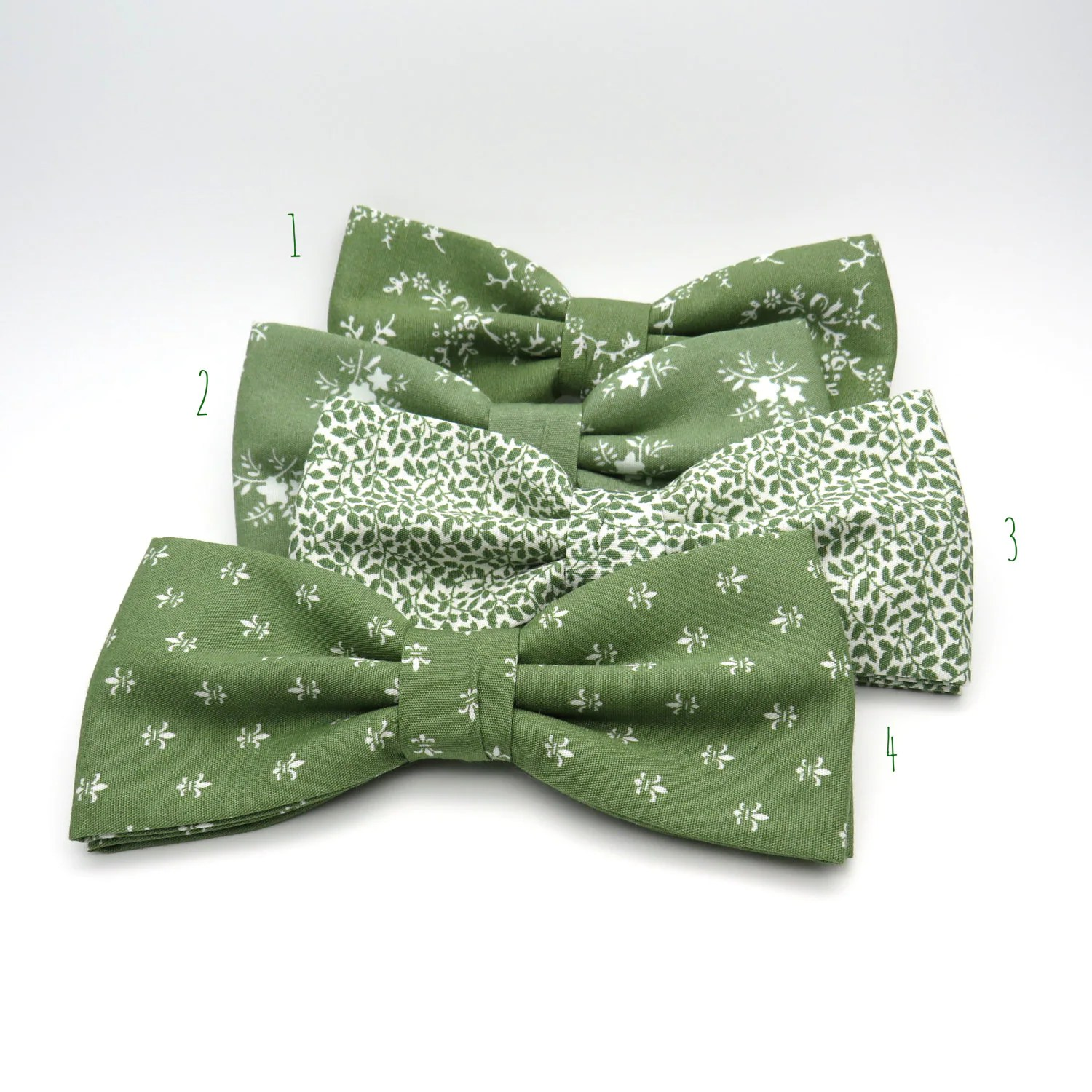 Sage Green Bow Tie Mix And Match