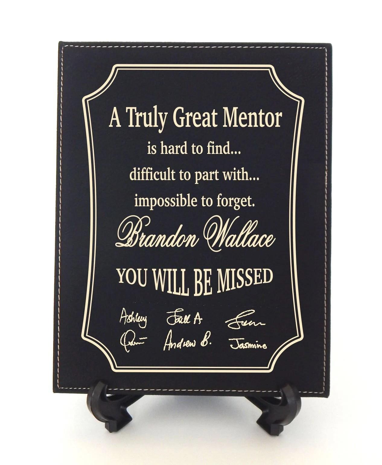Retirement Gift For Boss Mentor Boss Gift Bosses Day Gifts