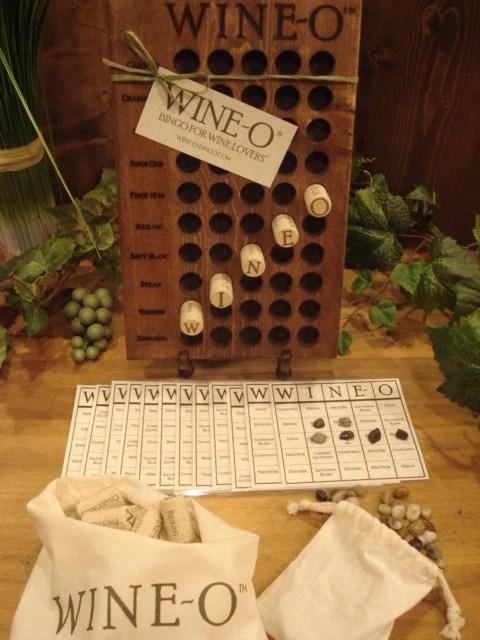 WINE O Bingo For Wine Lovers A Unique Wine Game And