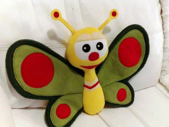 Cute Butterfly Just Like Butterfly From Baby Tv