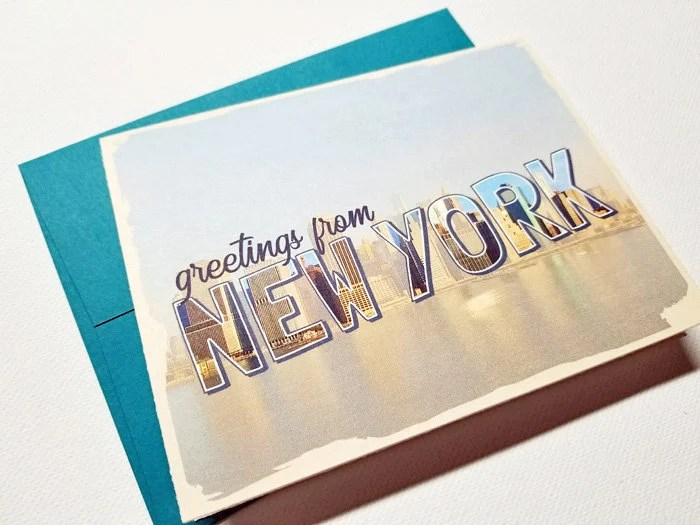 Greetings From New York C...
