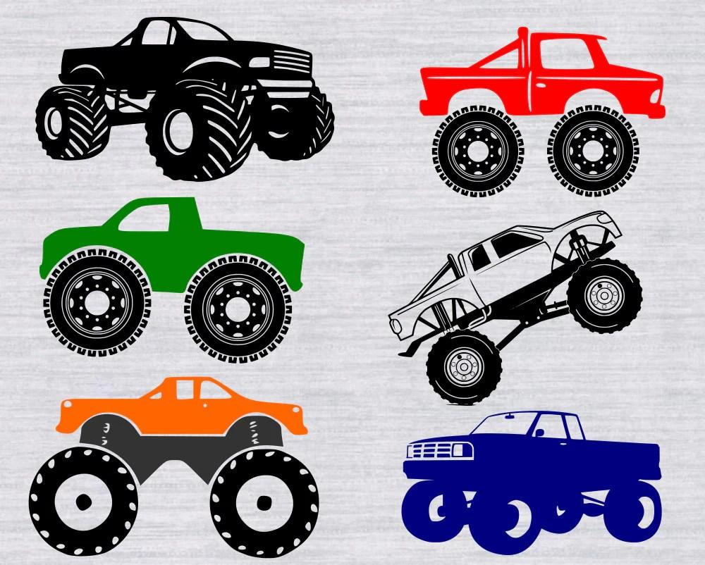 Download Monster truck SVG bundle monster truck clipart cars svg svg