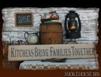 Kitchen Signs Kitchens are made to bring families together