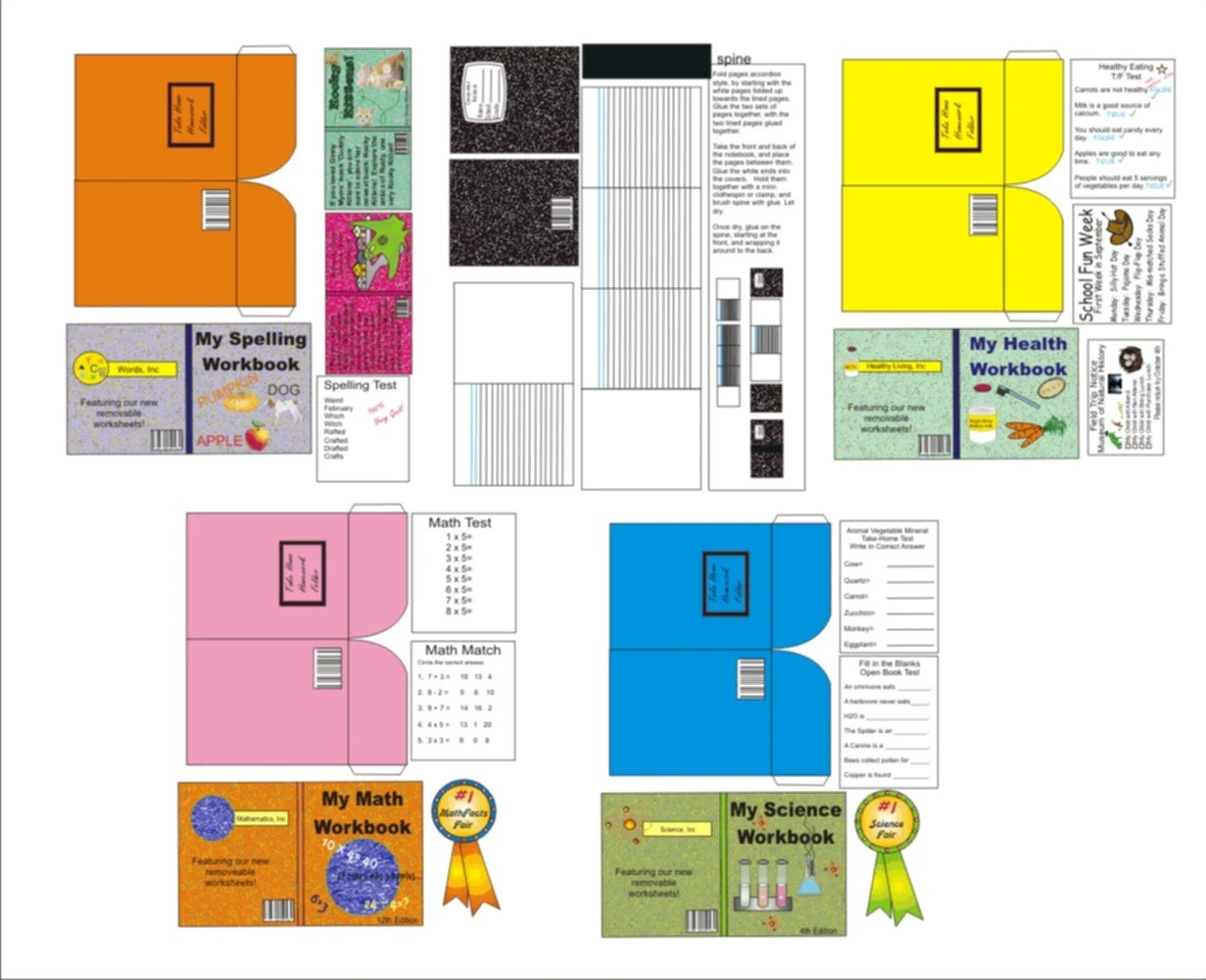 Lps Printable Books Year