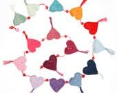 Crochet Heart Garland | C...