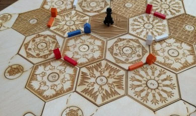Wooden Settlers Of Catan Wooden Thing