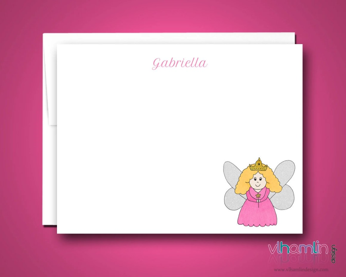 Fairy Princess Note Cards...