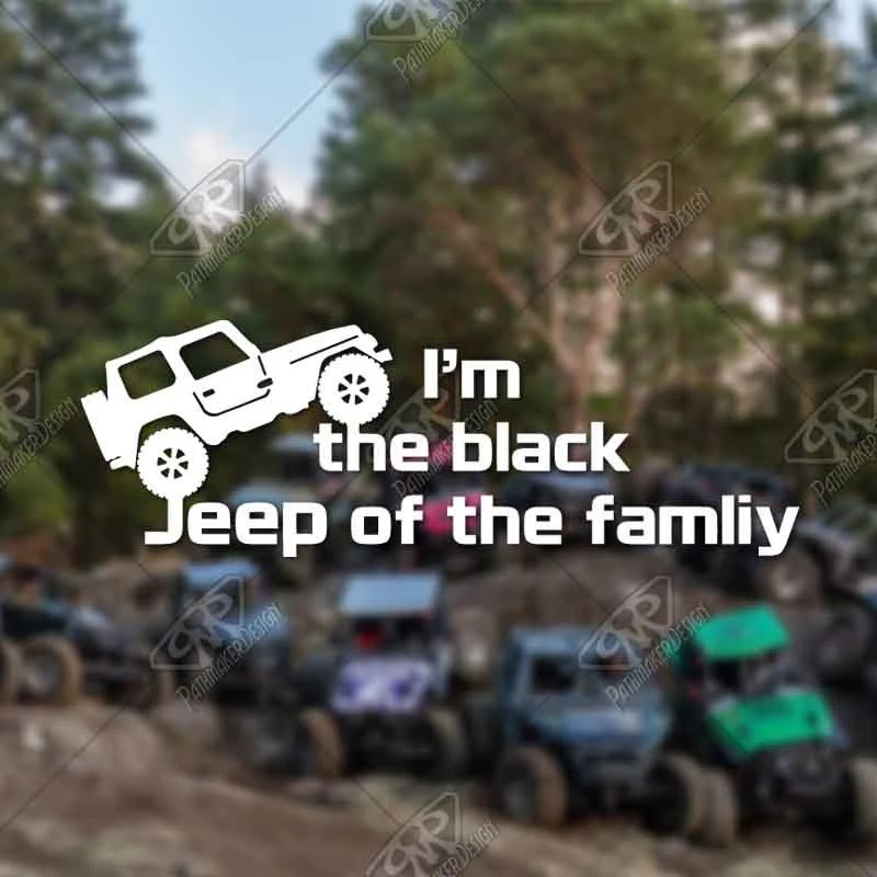 DECAL – [Black Jeep of ...