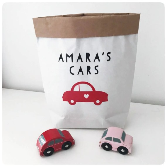 Customised Toy Storage Paper Bag