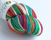 Hand dyed yarn. Zog, 100g...