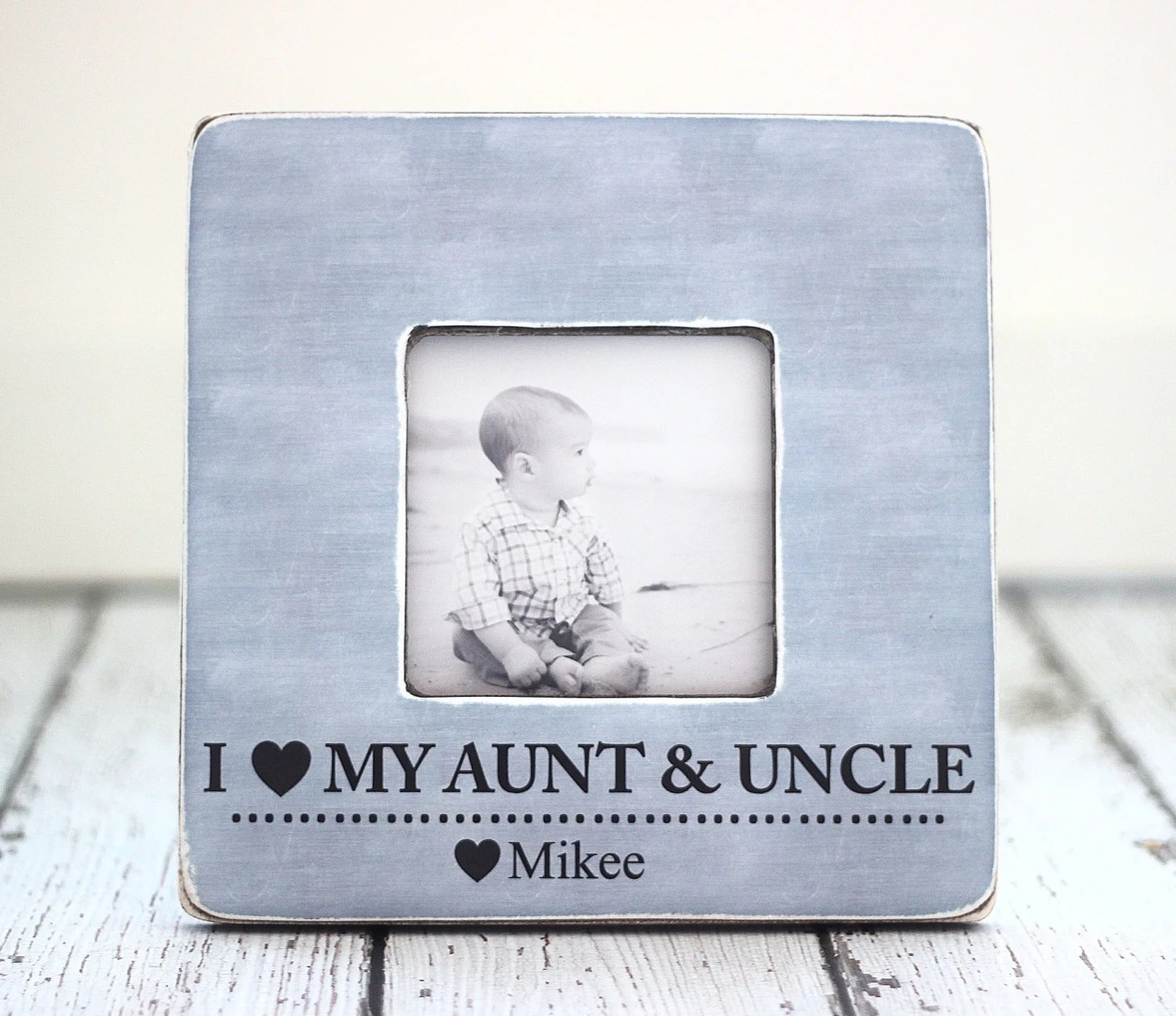 Aunt Uncle Personalized Frame Auntie