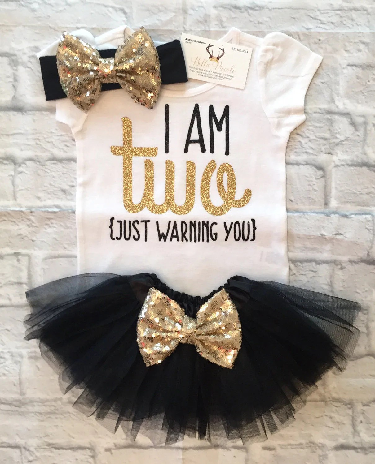 Baby Girl Clothes Second Birthday Shirt I M Two Shirt