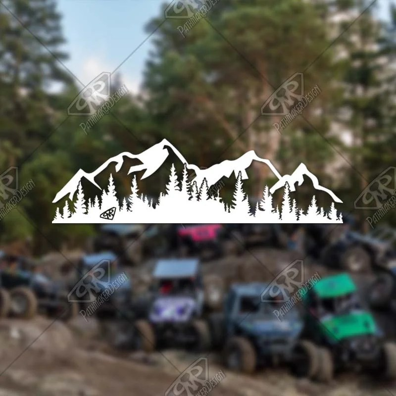 DECAL - [Forest & Mountai...