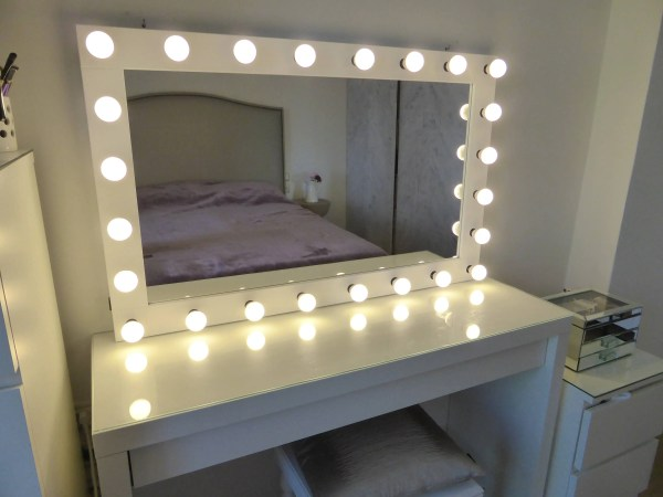 Xl Hollywood Vanity Mirror 43x27'' Makeup