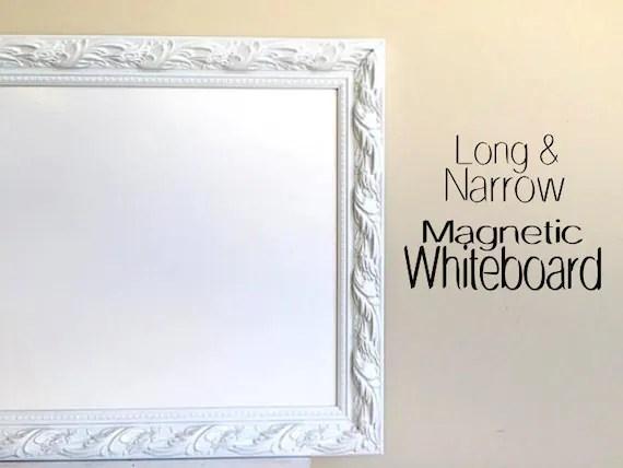 Decorative DRY ERASE BOARD for Sale Whiteboard Narrow Tall