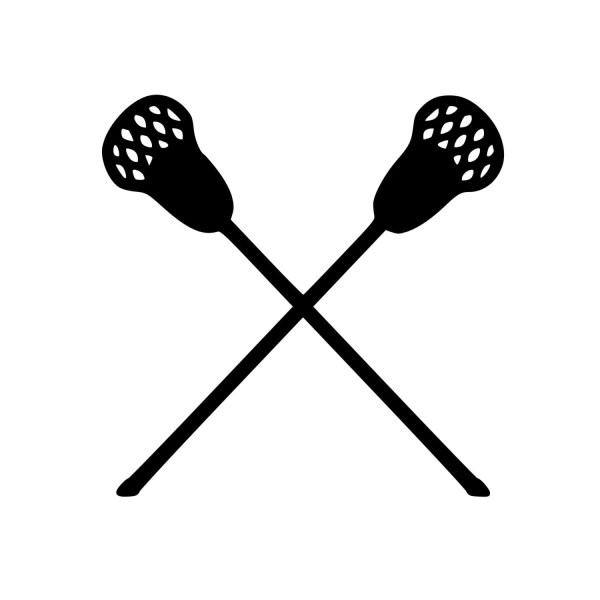 Lacrosse Sticks Field Box Intercrosse Vinyl Decal Sticker