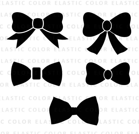 Download Bow svg file collection bow clipart digital download svg