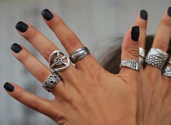 matte black nail polish vegan