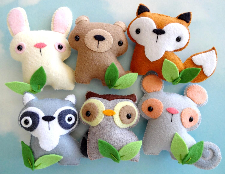 Fox Stuffed Animal Pattern