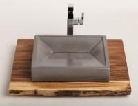 Concrete Vessel Sink Concrete Sink Vessel Sink Bathroom